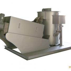山东蓝驰|厂家直销|叠螺污泥脱水机|螺旋式压榨脱水设备