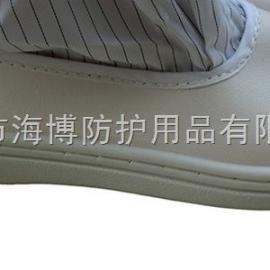 厂家供应 蓝色白色高筒无尘鞋 高筒硬底鞋防护劳保静电鞋男女适用