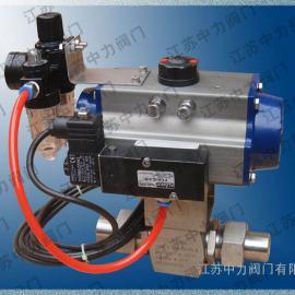 不锈钢进口气动高压球阀