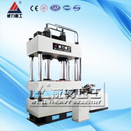 供应 400吨电加热树脂井盖液压机 四柱液压机 龙门压力机
