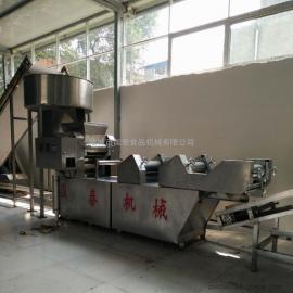 网带式自动传送热干面煮面机 热干面设备 热干面凉面生产线