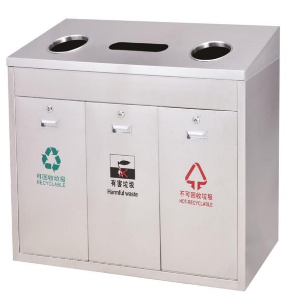 垃圾桶/南京垃圾桶厂家/不锈钢垃圾桶SDF-020