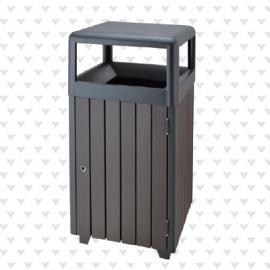 垃圾桶/南京垃圾桶/垃圾桶厂家/塑木垃圾桶SDF-052