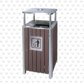垃圾桶/南京垃圾桶/垃圾桶厂家/塑木垃圾桶SDF-053