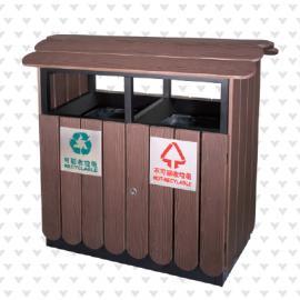 垃圾桶/南京垃圾桶/垃圾桶厂家/塑木垃圾桶SDF-055