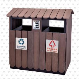 垃圾桶/南京垃圾桶/垃圾桶厂家/塑木垃圾桶SDF-056