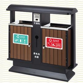 垃圾桶/南京垃圾桶/垃圾桶厂家/塑木垃圾桶SDF-057