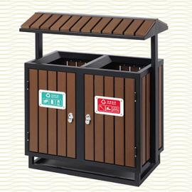 垃圾桶/南京垃圾桶/垃圾桶厂家/塑木垃圾桶SDF-059