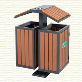 垃圾桶/南京垃圾桶/垃圾桶厂家/塑木垃圾桶SDF-060