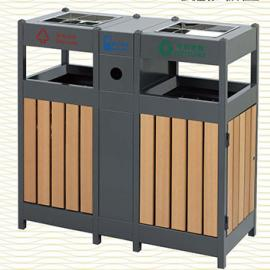 垃圾桶/南京垃圾桶/垃圾桶厂家/塑木垃圾桶SDF-061