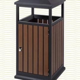 垃圾桶/南京垃圾桶/垃圾桶厂家/塑木垃圾桶SDF-064