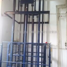 深圳液压升降机,深圳直顶导轨式升降平台