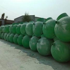 江苏如东污水处理厂用2立方玻璃钢化粪池价格