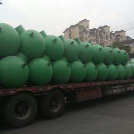 山东菏泽滨州聊城地埋式污水处理玻璃钢化粪池生产厂家