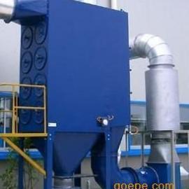 制药厂车间除尘设备滤筒除尘器工作原理