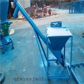 大米垂直提升用绞龙,邳州油菜籽螺旋送料机报价,单项电提料机