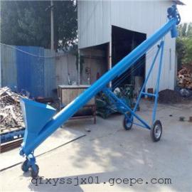 垂直螺旋输送机视频,159管径螺旋送料机报价,山东绞龙专卖