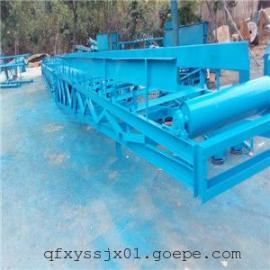 化肥装卸车专用的传送带,衡阳爬坡皮带机 港口用固定式爬坡机