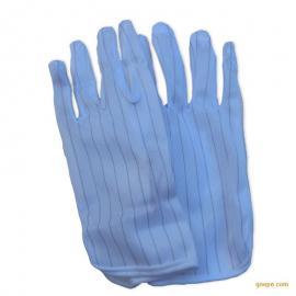 防静电PU手套 尼龙涂层掌耐磨涂胶工业电子厂作业 劳保防护手套