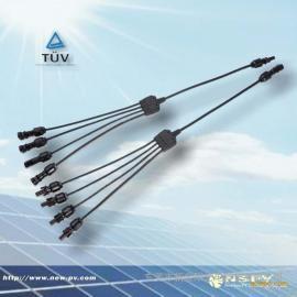 Y-Cable 衔接器/4转1奔流起始/5通防水衔接器