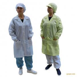 夏季防静电白色大褂 无尘保护衣防护服洁净
