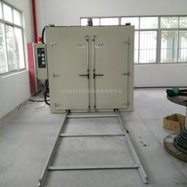 大型曲线升温台车烤箱 导轨台车式固化炉 台车式烘箱厂家