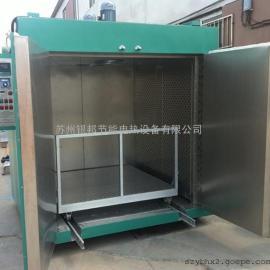 承重型台车烤箱 轨道式台车烤箱 大型固化炉烤箱 非标定制