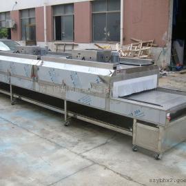 电加热连续烘干流水线烘箱 隧道式烘干线 隧道式烤箱