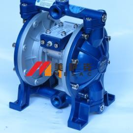 台湾宝丽气动式双隔膜泵浦1/2气泵压力泵抽油泵四分泵浦