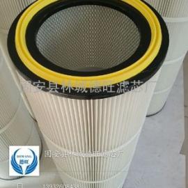 工业集尘设备专用除尘滤筒 河北优质除尘滤芯生产商