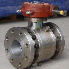 Q341Y-320C锻钢涡轮浮动球阀