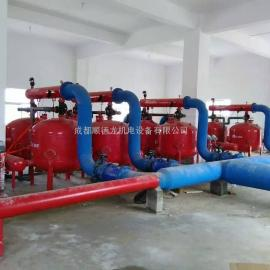 广西桂林QSG全自动浅层介质过滤器 成都砂缸过滤器厂家供应