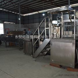 硅胶管生产线 医用硅胶管挤出机 硅胶管加工设备