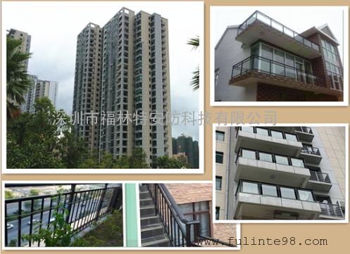 高层阳台护栏生产带免费安装十多年生产制作经验