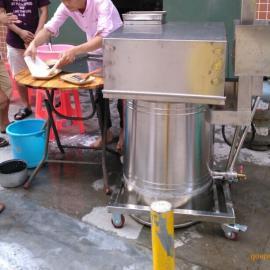 深圳松岗供应云浮抽屉式全不锈钢大托盘高压肠粉炉