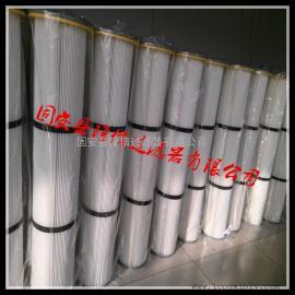 厂家批发1.5米高法兰下装粉尘滤芯,粉末回收滤筒,滤筒