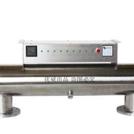 紫外线杀菌器优威环保厂家直供天津市二次供水紫外线消毒器