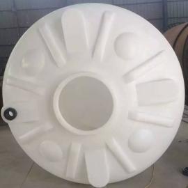 聚乙烯pe塑料大桶10方塑料罐10吨塑料水塔可地埋庆阳厂家