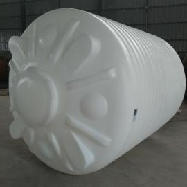 西吉10方塑料储水桶10吨抗旱水箱免费装接头