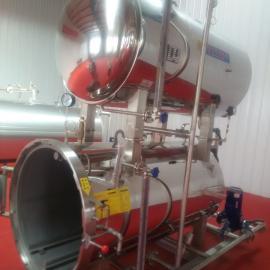 回转式杀菌锅_食品高温杀菌设备_豆制品杀菌罐