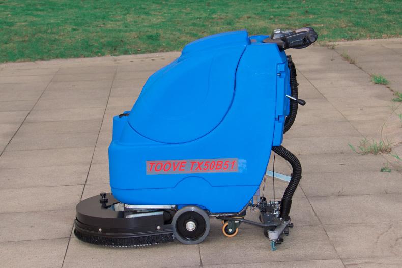 常州拓威克手推式洗地机环氧地坪工厂用洗地机厂家直销