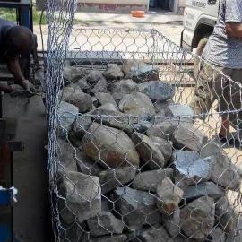 星空修河渠专用石笼网 格宾网箱装石头护坡石笼网 护岸石笼网