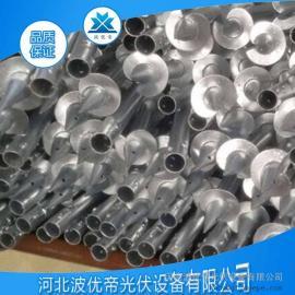 螺旋地桩 预埋桩基 热镀锌产品 钢桩