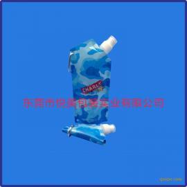 吸嘴袋厂家 可折叠运动吸嘴袋定制 PET凹印袋