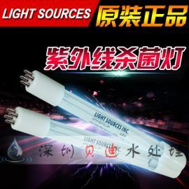 郑州直销美国Light Sources GHO64T5L/150W UV埃消毒灯管