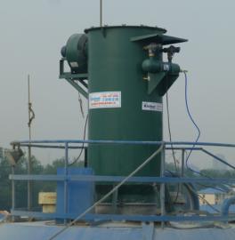 北京仓顶清灰器,北京拌和站仓顶清灰器实体案例