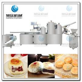 河南郑州 多功能酥饼机厂家 鲜花饼机器手把手教工艺