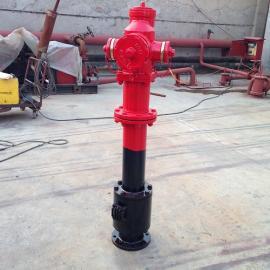 章丘消防SSFT100/65-1.6快开调压防冻防撞室外消火栓