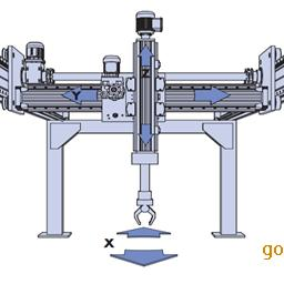 桁架上下料机械手数控机床车床桁架机械手桁架机械手厂家直销