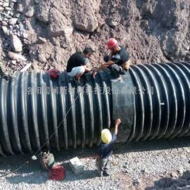 市政排污钢带波纹管